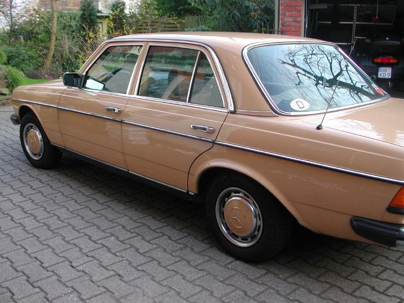 Cool And Rare W123s Mercedes Benz Forum